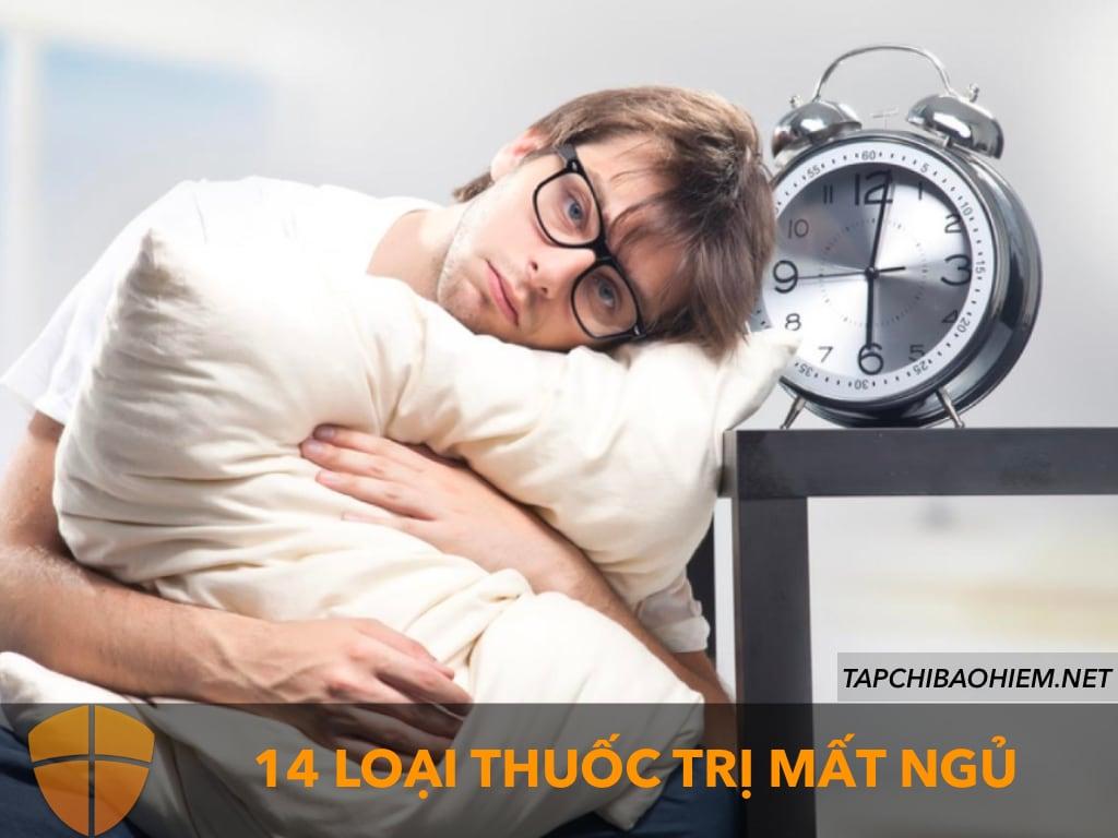14 loại thuốc trị mất ngủ tốt và an toàn nhất trên thị trường hiện nay