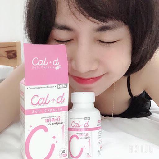 THUỐC TĂNG CHIỀU CAO CAL D SOFT CAPSULE