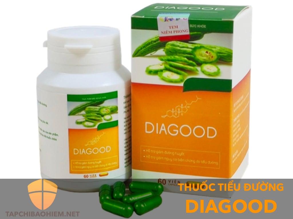 Thực phẩm chức năng Diagood có tốt không? Giá thành trên thị trường bao nhiêu?